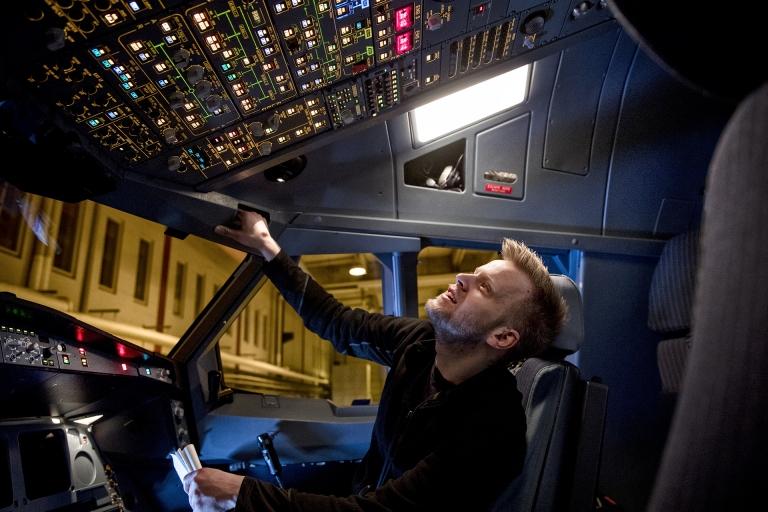 Martin Byskov - flymekaniker hos SAS i CPH Lufthavn
