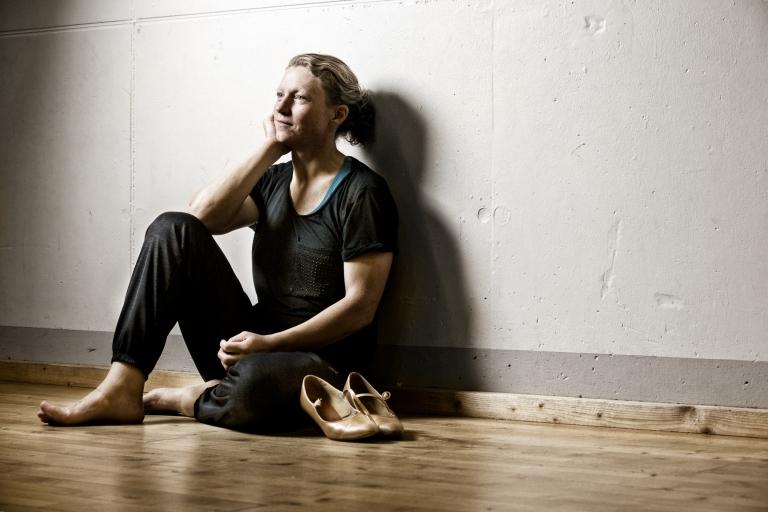 Vild med dans Katrine Fruelund og Aslak øver dans til på fredag
