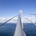 Billeder af storebælts broen